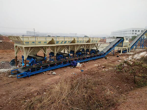 WBZ400 Stabilized Soil Batching Plant