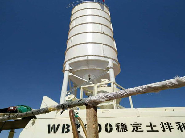 WBZ600 Stabilized Soil Batching Plant