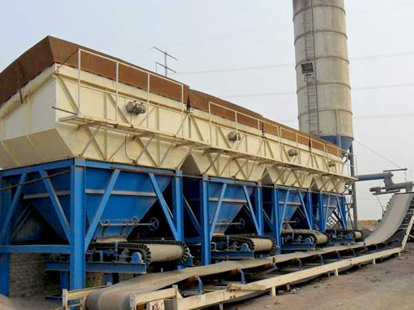 WBZ800 Stabilized Soil Batching Plant