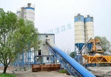 High Technology Concrete Mixing Plant on the Line