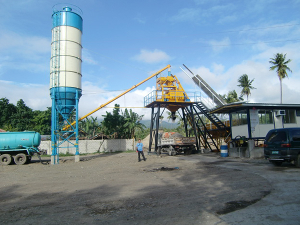 25m³/hr Concrete Batching Plant