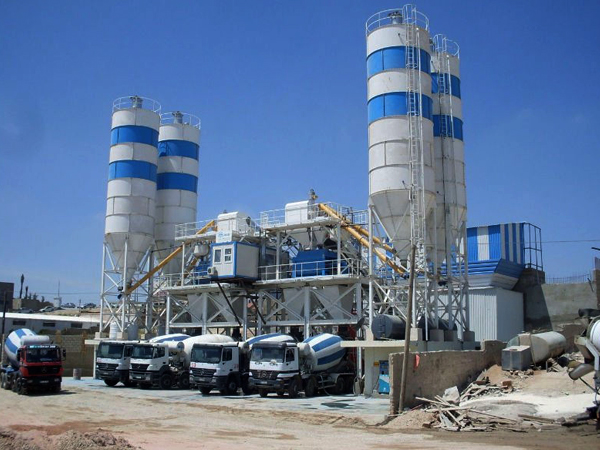 180m³/hr Concrete Batching Plant
