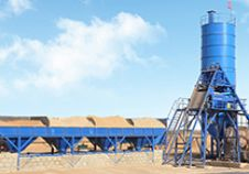 HZS35 Concrete Batching Plant was Delivered to Kenya