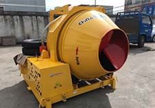 Successful Case---Diesel Engine Concrete Mixer to Sri Lanka Customer