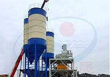 HZS180 Concrete Batching Plant in Vietnam