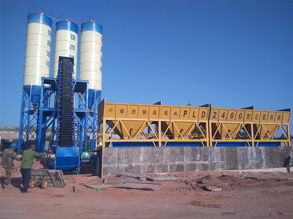 60m³/hr Concrete Batching Plant