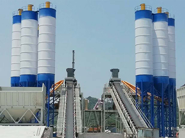 150m³/hr Concrete Batching Plant