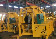 Two Sets Hydraulic Concrete Mixer Exported to Chile